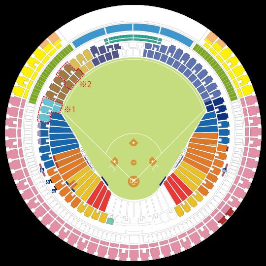 ドーム クイーン 京セラ これでコンサートもバッチリ! 京セラドーム大阪の座席表と見え方